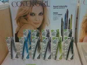 lin0 300x225 COVERGIRL Liquiline Blast Eyeliner BROWN BLAZE review and Swatches.