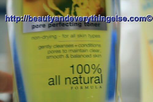 IMG 9965 Review:Dickinsons Original witch hazel Pore perfecting toner.