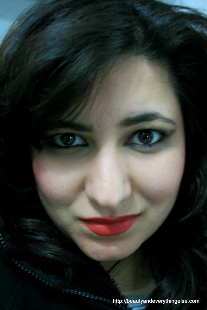Kat Dennings inspired makeup
