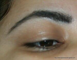 how I groom my eyebrows
