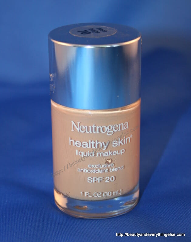 Neutrogena Healthy skin foundation: