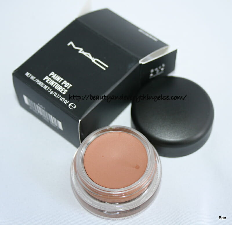 MAC paint pot in ground work