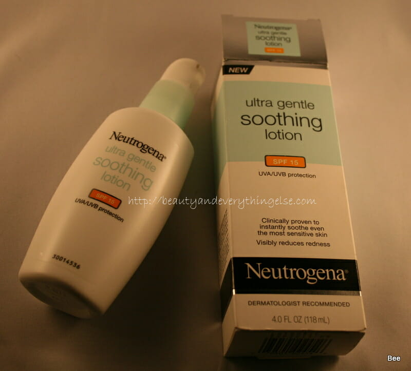 Neutrogena ultra smooth moisturizer with SPF