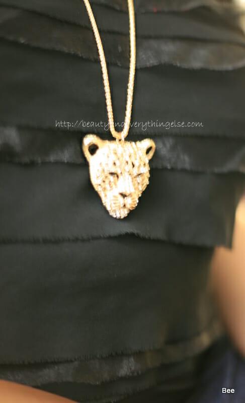 Cheetah pendant