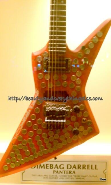 A musician's guitar!