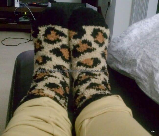 My fav Fuzzy socks!