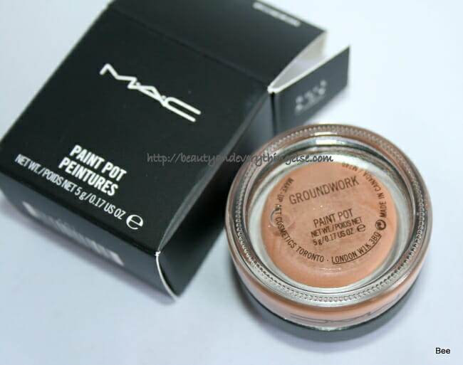 IMG 2106 MAC Groundwork Paint Pot review & swatches.