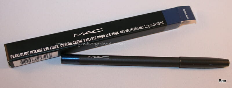 IMG 2178 MAC  PearlGlide Intense Eyeliner Petrol Blue  review,swatches and EOTD.