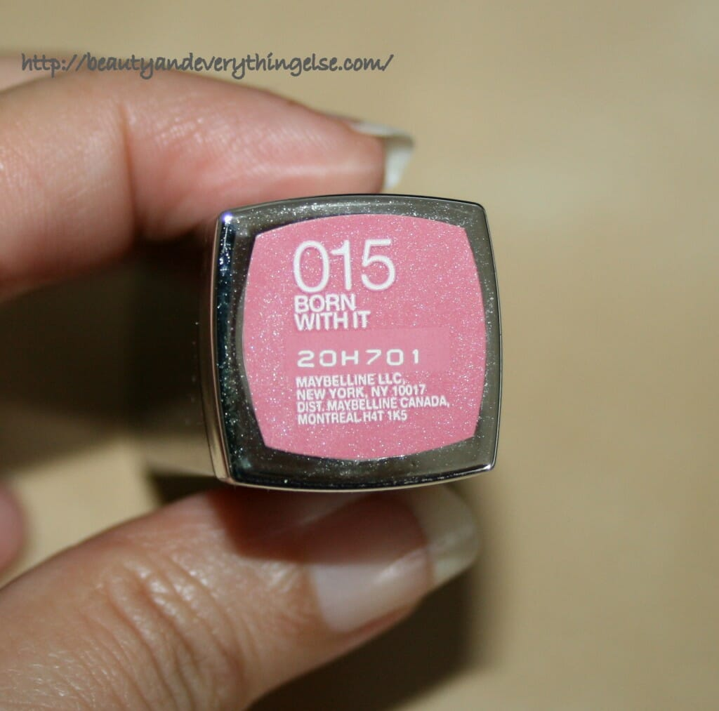Maybelline Color Sensational Lipstick Born With It Review