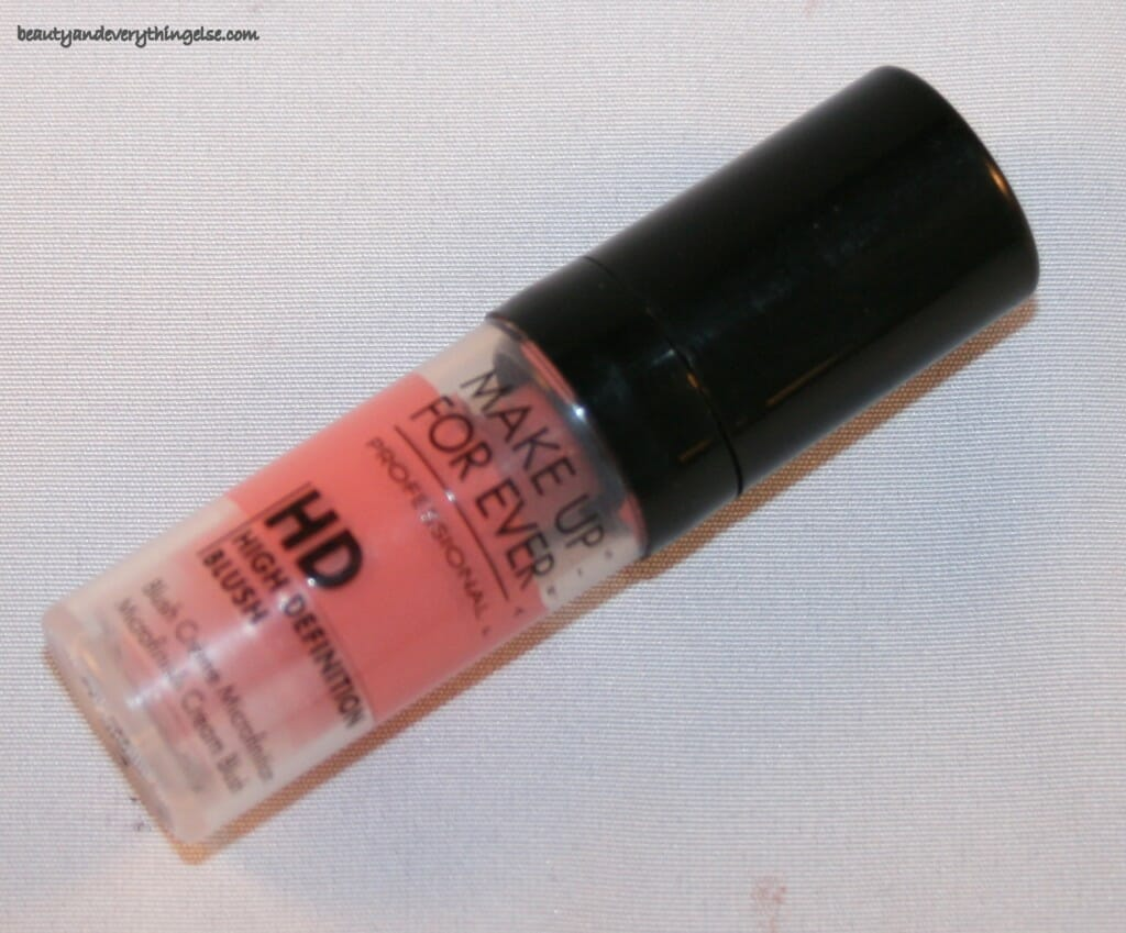 Make Up For Ever HD Blush #6 quickie Review