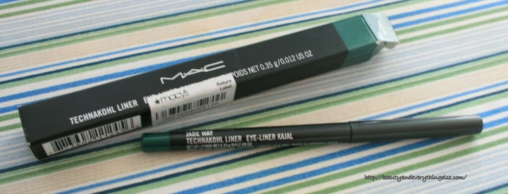 IMG 3054 1024x392 MAC Technakohl Liner Jade Way Review & Swatches.