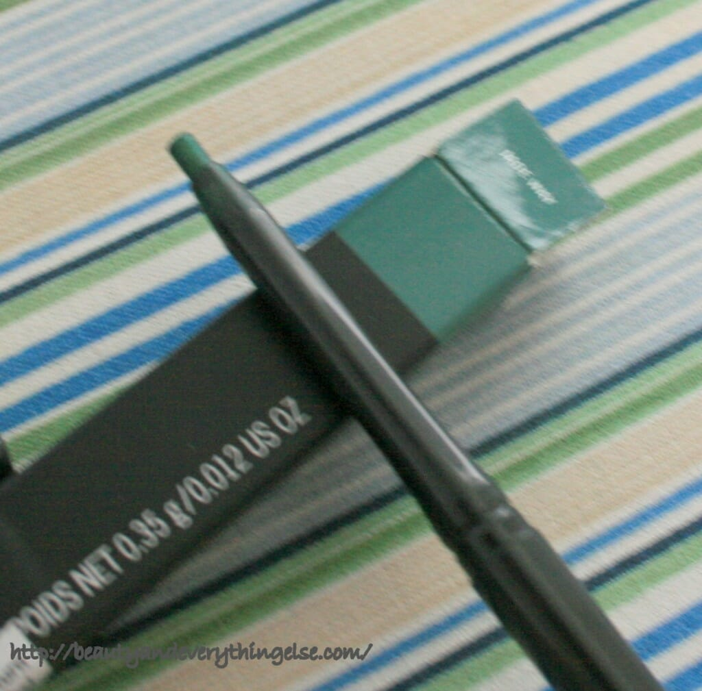 IMG 3055 1024x1009 MAC Technakohl Liner Jade Way Review & Swatches.