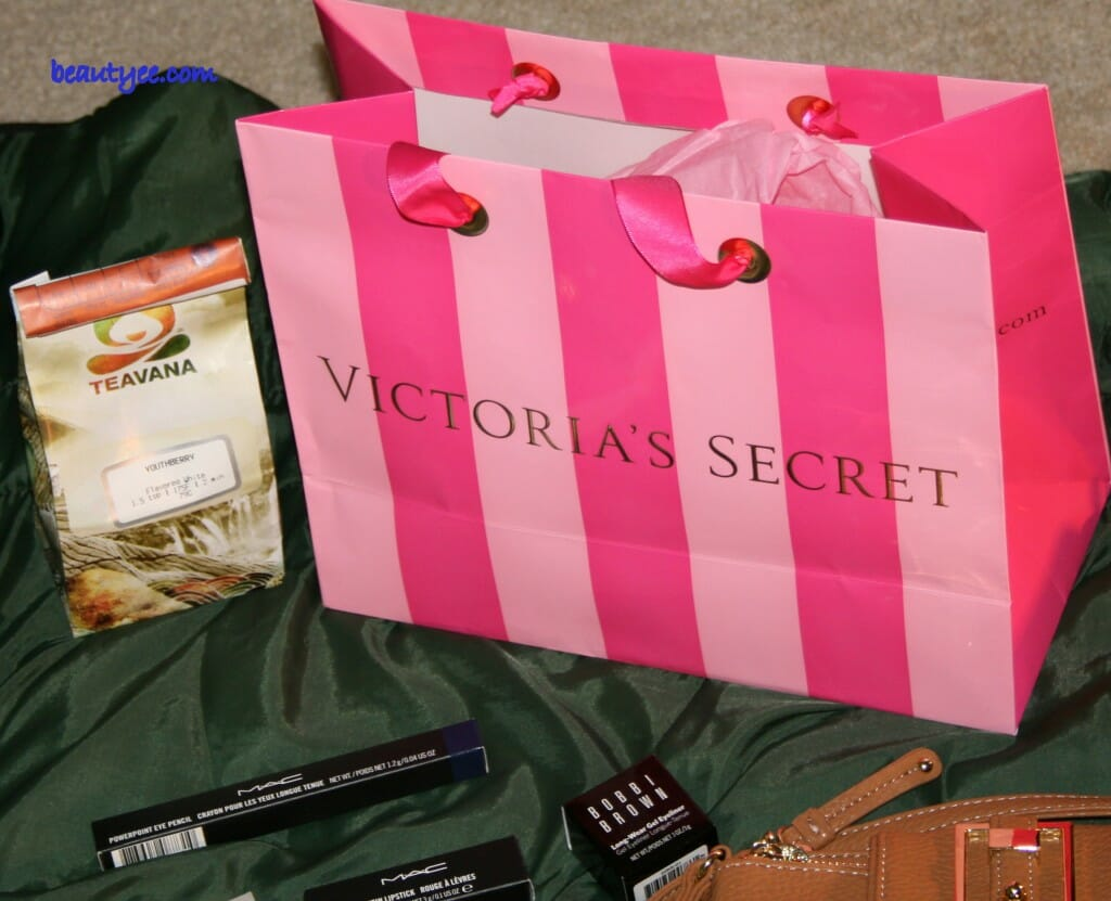 Something special from Victoria's Secret and some tea from Teavana