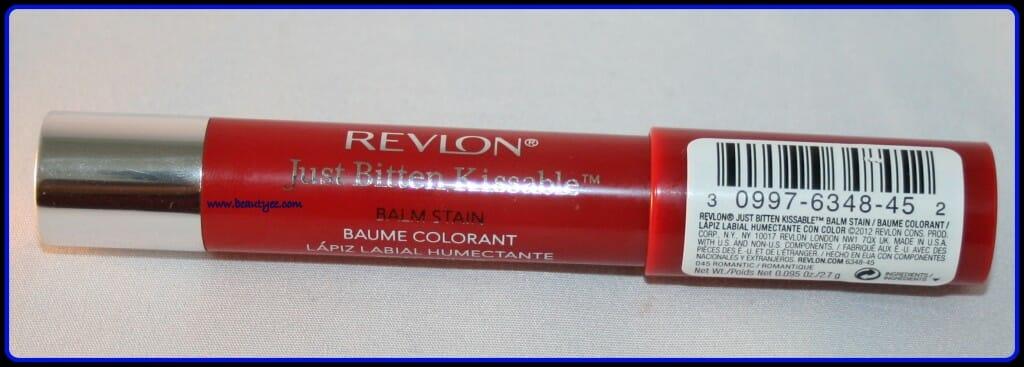 Revlon just bitten kissable balm stain in romantic/romantique