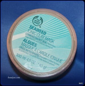 IMG 4192 298x300 The body shop seaweed Ionic clay mask: