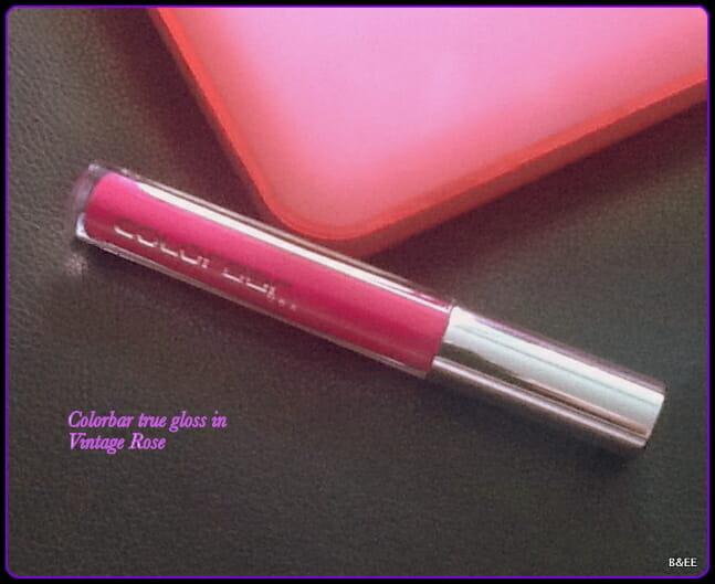Colorbar True Gloss Lip Gloss Vintage Rose