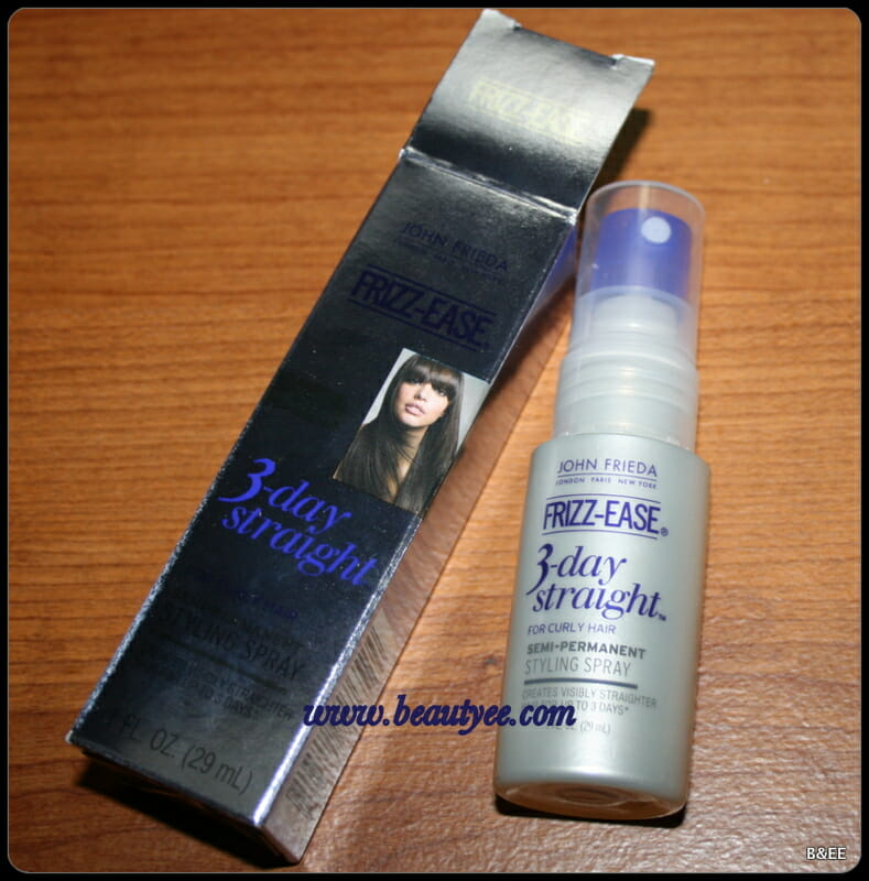 John Frieda semi permanent styling spray