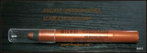 Milani Shadow Eyez 12hr Eyeshadow Pencil Brown Deluxe