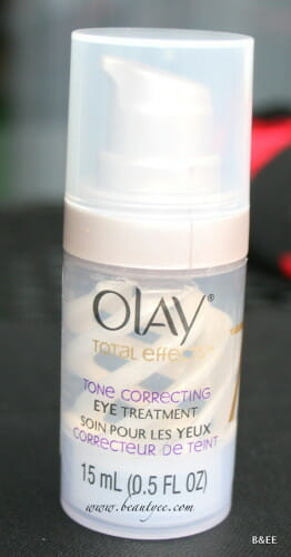Olay total effects tone Correcting eye serum