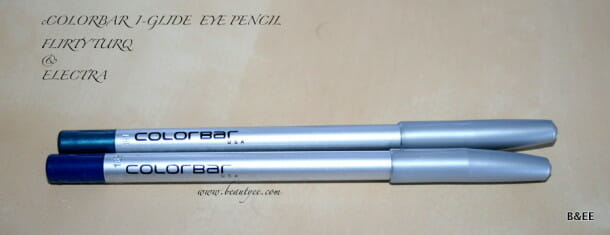 Colorbar I-Glide Eye Pencils Review & Swatches