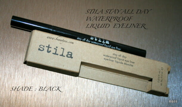 Stila Stay All Day Liquid Eyeliner Pen Review