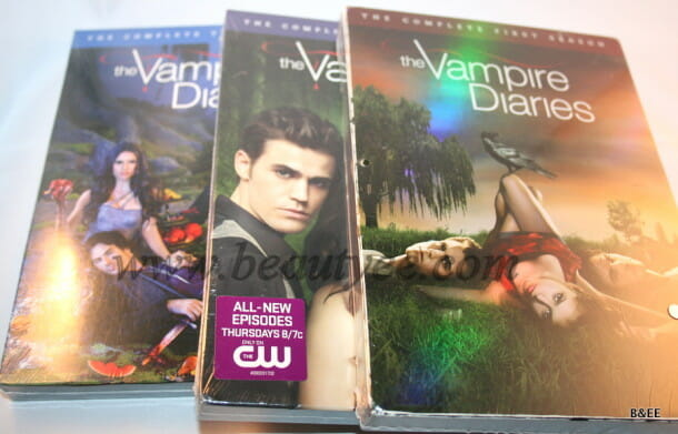 The Vampire diaries DVD collection
