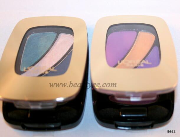 L'oreal eyeshadow palettes