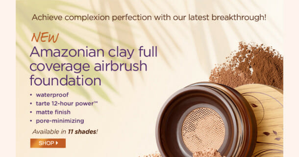 PFLaunch Body2 610x320 Tarte New airbrush powder foundation = complexion perfection!