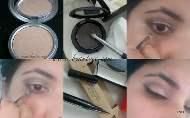 tute 610x381 Quick smokey crease eye makeup!