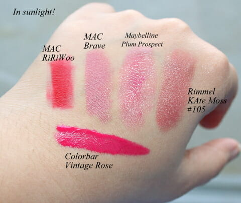 TAG- My 5 most favorite lipsticks!