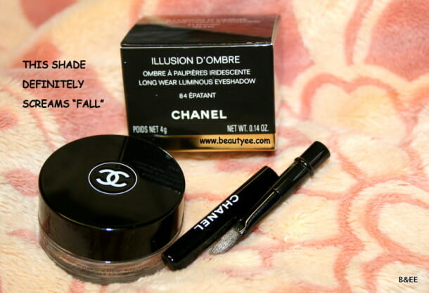 CHANEL ILLUSION D'OMBRE Epatant review