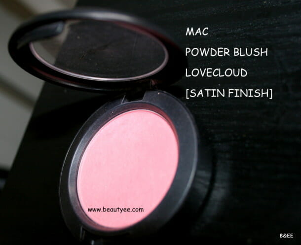 IMG 8474 610x497 MAC Lovecloud Blush Review & Swatches!