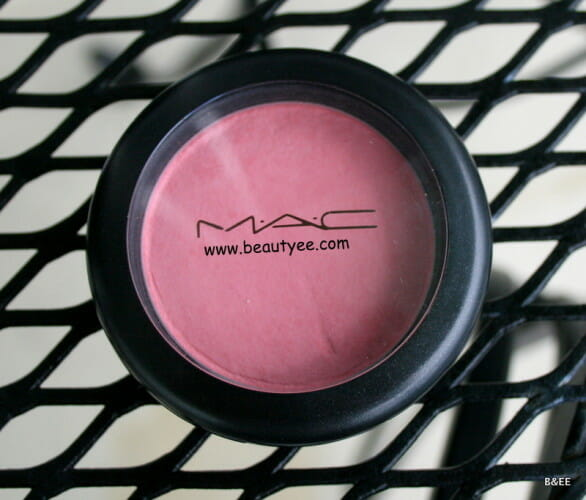 IMG 8477 586x500 MAC Lovecloud Blush Review & Swatches!