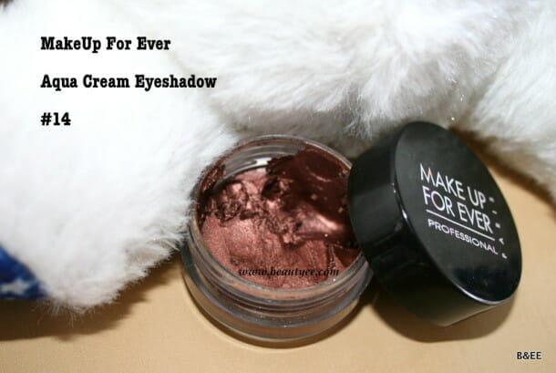 Make Up For Ever Aqua Cream eyeshadow #14