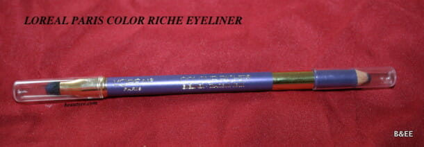 L'Oréal Paris Colour Riche Eyeliner in Violet review, swatches!