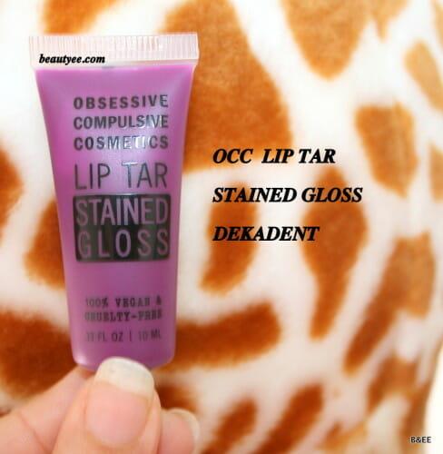 Obsessive Compulsive Cosmetics Dekadent Lip Tar