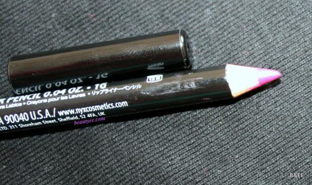 NYX Slim Lip Pencil in Bloom Review