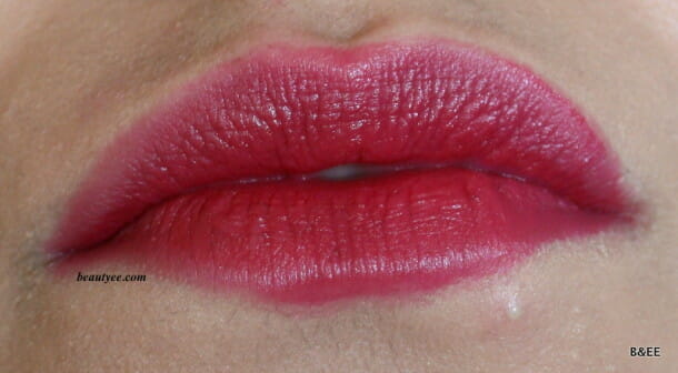 IMG 0668 610x336 RIMMEL KATE MOSS LIPSTICK IN SHADE 09 Review, Swatches!!!!