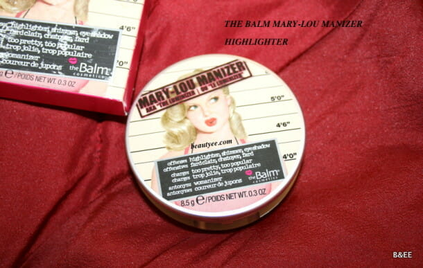 IMG 0671 610x387 THE BALM MARY LOU MANIZER REVIEW AND SWATCHES!