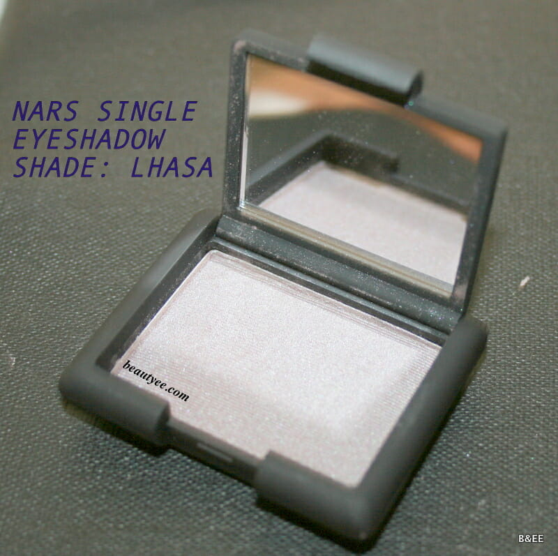 NARS Single Eyeshadow Lhasa review