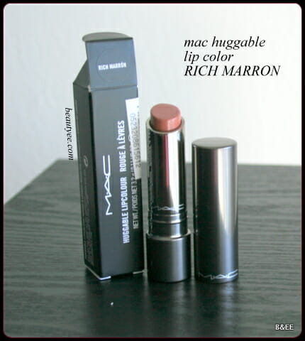 MAC Huggable Lipcolour Rich Marron