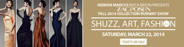 shuzz banner 960x250 610x158 Event: SHUZZ| ART | FASHION Show on 3.22.14 in Boca Raton, Florida